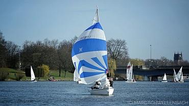 leichte Winde auf der Pre Season Sail