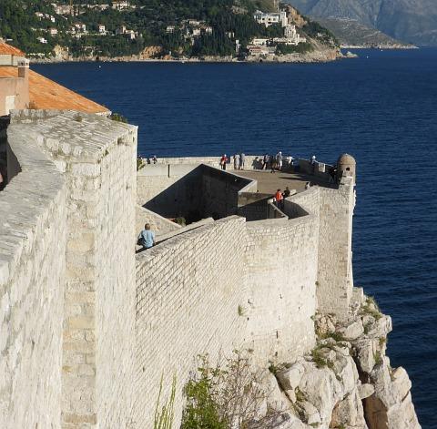Dubrovnik Festungsmauer