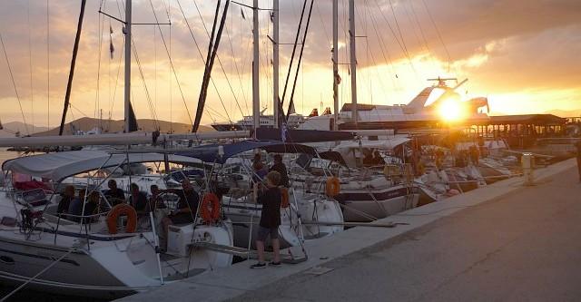 Abend in Aeginia