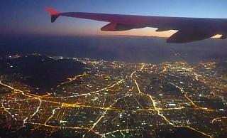 Rückflug: Über Athen
