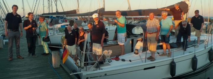 (Teils) Crews der Flottillle Ostsee 2016