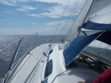 Endlich rihtig segeln